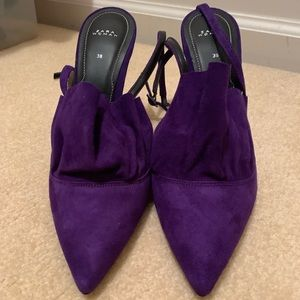 Zara Pointed Ankle Strap Heel